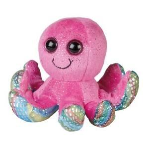 Octopus Soft Toy Ravensden 18cm Pink