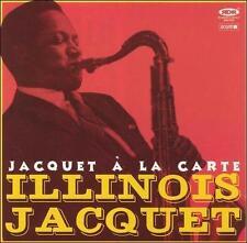 Illinois Jacquet - Jacquet a la Carte (CD, Dec-2002, Ocium Records (Spain)