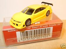MICRO HERPA HO 1/87 OPEL CALIBRA JAUNE PHASE 4 IN  BOX