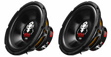 Boss Audio 10-Inch Single Voice Coil 1200 Watt Max Subwoofer (2 Pack) | P10SVS