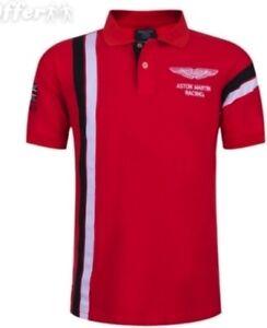Aston Martin Polo Racing Shirt (New, Trendy Polo)  All Sizes L