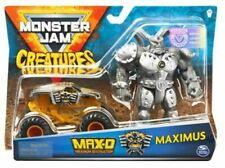 Hot Wheels Monster Jam Trucks 1/64 MAXIMUM DESTRUCTION MAX-D Creatures Maximus