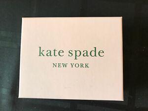 """Empty Kate Spade Gift Jewelry Box 4.5"""" x 5.5"""" x 1.75"""""""