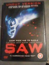 Saw - Uncut version DVD