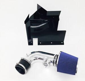 Black Blue For 2007-2011 BMW 128i 328i 3.0L 6cyl Heat Shield Cold Air Intake