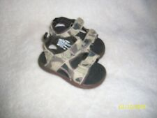 FADED GLORY CAMOUFLAGE SANDALS BABY SIZE 3