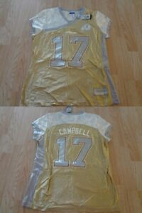 Women's Washington Redskins Jason Campbell L NWT (Gold) Reebok Jersey