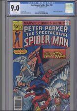 Spectacular Spider-Man #18 CGC 9.0 1978 Marvel: Angel & Iceman App: New Frame