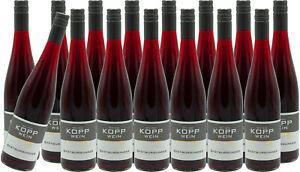 (15 x 0,75l) 20er SPÄTBURGUNDER trocken Qualitätswein Erzeugerabfüllung KOPP