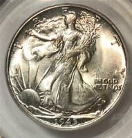 1945-S PCGS MS65 Liberty Walking Half Dollar-Gorgeous Coin-Make Us An Offer F93