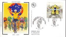 3583+ FDC  ENVELOPPE 1er JOUR CEF TOUR DE FRANCE  1903  - 2003