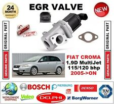 FOR FIAT CROMA 1.9D MultiJet 115/120 bhp 2005->ON EGR VALVE 2-PIN with GASKETS
