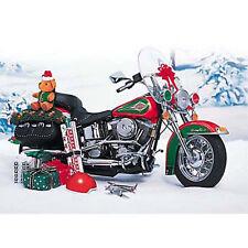 1996 Harley Davidson Heritage Softail 2003 Christmas Bike 1:10 Scale FM