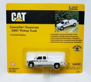 Caterpillar Corporate GMC Dually Pickup Truck By Norscot 1/64th Scale