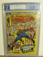 Amazing Spiderman 121  PGX 7.5  Death of Gwen Stacy  OW/W Pages!