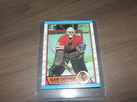 1989-90 opc # 132 alain chevrier  chicago