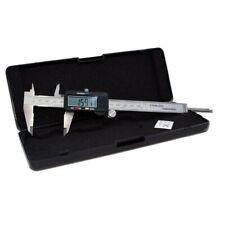 Calibro Digitale a corsoio 0 - 150 mm in acciao con Display e Custodia