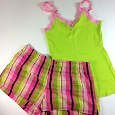 New Size MEDIUM PAJAMAS TANK TOP and SHORTS SET 8 - 10 COTTON Jennifer Moore