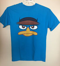 Phineas & Ferb Agent P / Perry The Playpus Disney Boys T-Shirt L 14-16