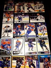 🏆LEON DRAISAITL🏆+ LOT OF 22 MORE Edmonton Oilers Cards! 1991-Now 💥see photos!