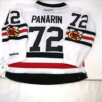 NHL Youth Chicago Blackhawks #72 Panarin Stitched Jersey Kids Size S/M