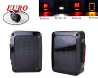 LED Tail Light Rear Brake Reverse Turn Signal Lamp For 07-17 Jeep Wrangler EURO