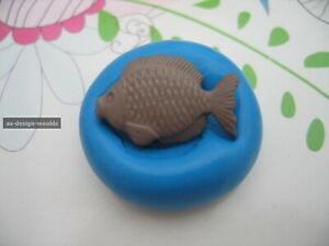 Fish #2 Fishing Silicone Mould/Mold Sugar Craft, Cupcakes, Cake Toppers