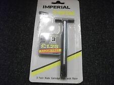 safety razor with 3 blades
