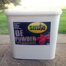 SMITE ORGANIC RED MITE LICE LOUSE POWDER Diatomaceous Earth Powder 5kg tub