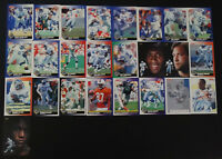1991 Score Detroit Lions Team Set of 26 Football Cards With Supplemental