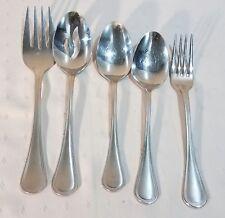 5 Pc Lot Cuisinart 18/10 Flatware Stainless Steel MANSFIELD Glossy Korea