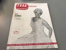 TÉLÉ MAGAZINE N° 43 (août 1956) : ANNE BÉRANGER