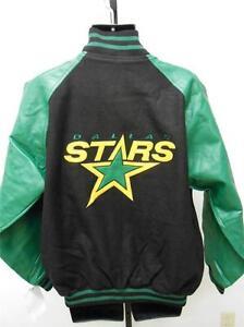 NEW Dallas Stars Adult Mens Sizes M-L-XL-2XL Varsity Jacket-Coat by GIII