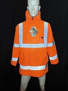 Goretex Hi Vis Jacket, Electric Arc, Anti Static, Flame Retardant, Waterproof