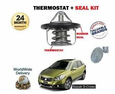 FOR SUZUKI SX4 S CROSS 1.6 M16A 2013-> NEW THERMOSTAT AND SEAL KIT