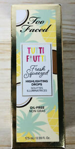 TOO FACED - TUTTI FRUTTI - SQUEEZED HIGHLIGHTING DROPS - SPARKLING PINA COLADA