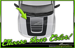Arctic Style Hood Stripe Decal - FITS 2008 - 2013 Jeep Liberty 6