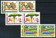 San Marino 1989 Sass. 1250-1252 Nuovo ** 100% Natura, uccelli