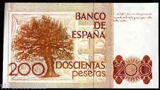 200 pesetas Leopoldo Alas Clarín 1980 CON SERIE Plancha