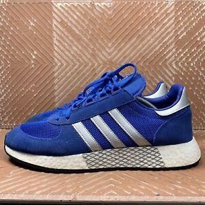 Adidas Men's New Originals Marathon X Boost Blue/Silver G26782 Size 10