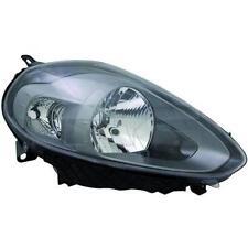 Faro delantero Derecho FIAT PUNTO EVO 09- TYC H4+P21W negro luz durante el día
