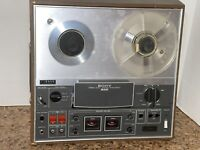 Sony TC-366 Reel to Reel Tape Recorder / Player For Parts or Repair UNTESTED