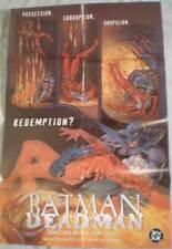 BATMAN DEADMAN Promo poster, 22x34, 1996, Unused, more Promos in store