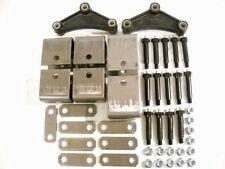 Tandem Axle Spring Hanger Kit Suspension Short Equalizer w/ Wet Bolts 3500-7000