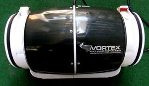 Vortex S-800 Powerfans, 8 inch 711 CFM Inline Fan READ