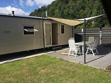 Mobilheim für 4 Personen mieten auf Campingplatz am Main in Stadtprozelten