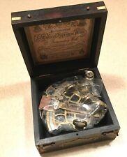 *Unused J.Scott London 1753 Nautical Sextant Antique Marine Maritime Navigation