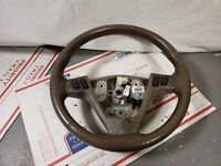 05-07 CADILLAC STS DRIVER LEFT SIDE STEERING WHEEL W/ BUTTONS OEM BEIGE TAN A4