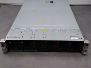 HP Proliant DL560 G8 Rack Server, 4 x E5-4640 CPUs (32 cores), 128Gb RAM