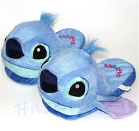 LILO Stitch Cartoon Stuffed Plush Winter Warm Slippers Indoor Shoes